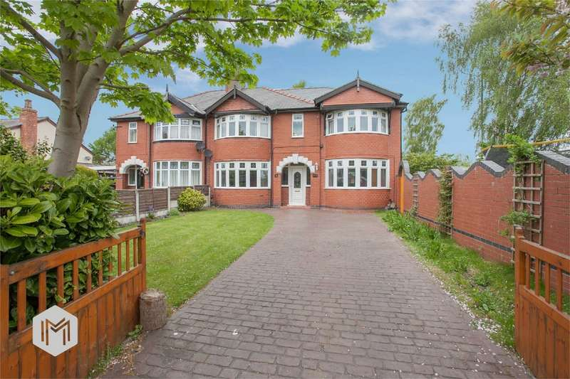 4 Bedrooms Semi Detached House for sale in Mill Lane, Houghton Green, Warrington, Cheshire