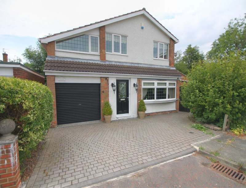 4 Bedrooms Detached House for sale in Mill Hill, Houghton Le Spring, DH5