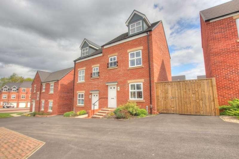 3 Bedrooms Semi Detached House for sale in Wilfrid Gardens, Gateshead, NE8