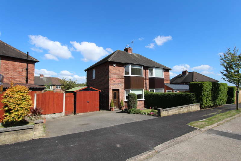 2 Bedrooms Semi Detached House for sale in Wingfield Crescent, Frecheville