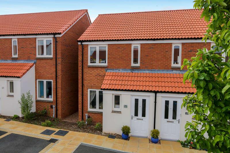 2 Bedrooms Semi Detached House for sale in Inner Westland, Cranbrook