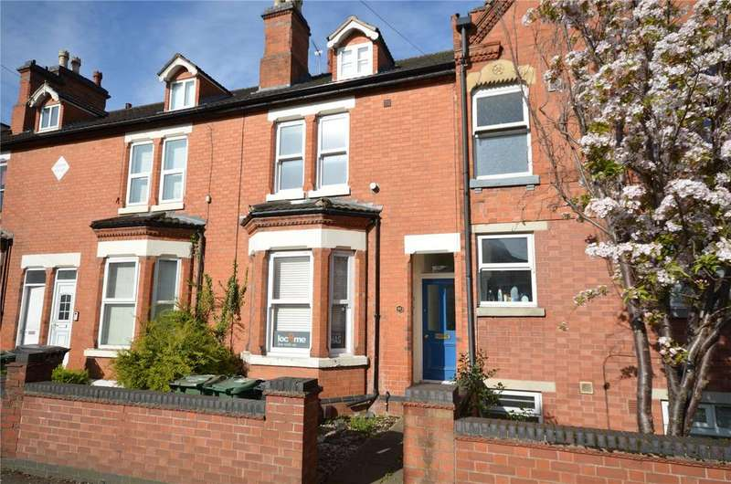 5 Bedrooms Terraced House for sale in Park Road, Loughborough, Leicestershire