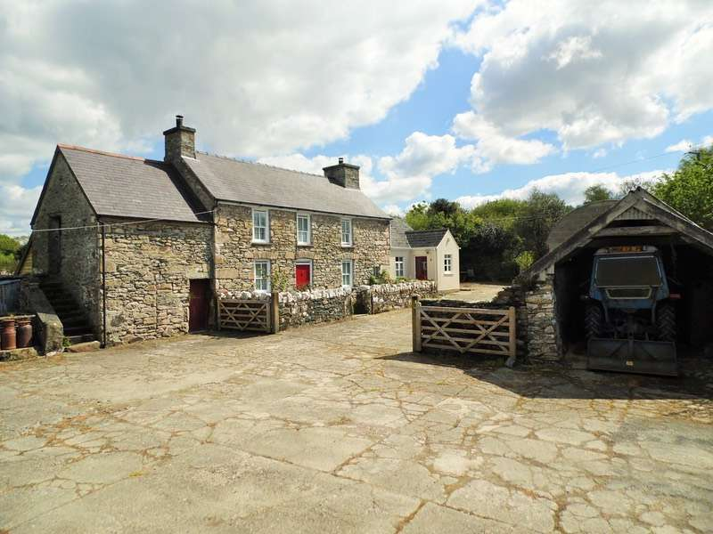 2 Bedrooms Detached House for sale in Crosswell, Crymych, Pembrokeshire, SA41