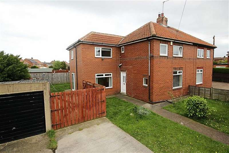 3 Bedrooms Semi Detached House for sale in Wells Grove, South Shields, Tyne And Wear