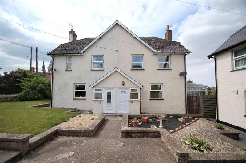 3 Bedrooms Semi Detached House for sale in Tower Hill, STOGURSEY, Bridgwater, Somerset, TA5