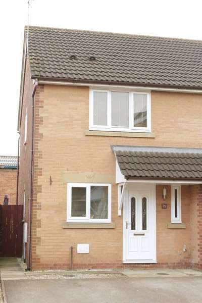 2 Bedrooms Semi Detached House for sale in Stirling Close, Winsford, Cheshire, CW7