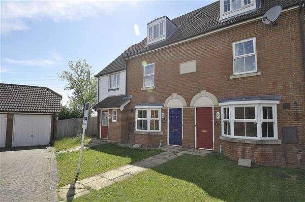3 Bedrooms Terraced House for sale in ASHFORD TN23