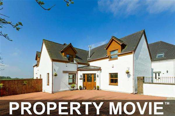 4 Bedrooms Detached House for sale in The Courtyard, Hazelbank, Dunlop, KA3 4EG