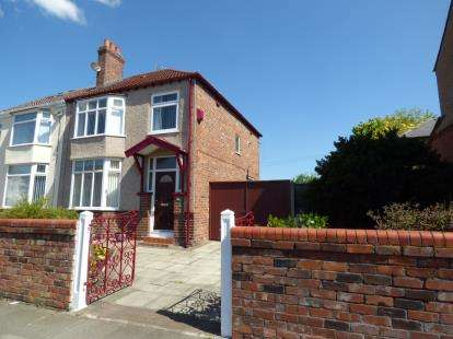 3 Bedrooms Semi Detached House for sale in Manor Road, Crosby, Liverpool, Merseyside, L23