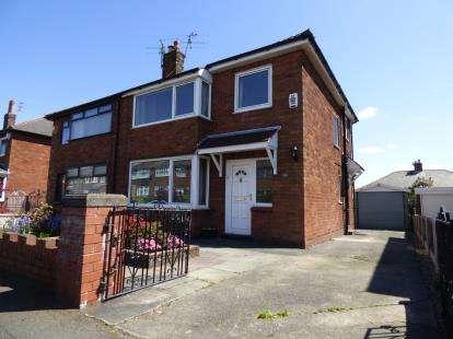 3 Bedrooms Semi Detached House for sale in Laurel Bank Avenue, Fulwood, Preston, Lancashire, PR2
