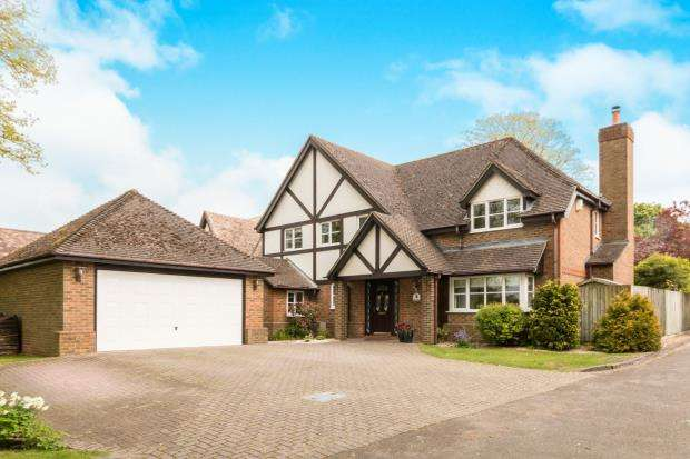 5 Bedrooms Detached House for sale in Kempshott Lane, Basingstoke, Hampshire