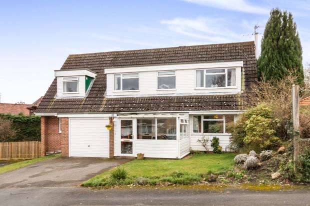 5 Bedrooms Detached House for sale in Pamber Heath, Tadley, Hampshire