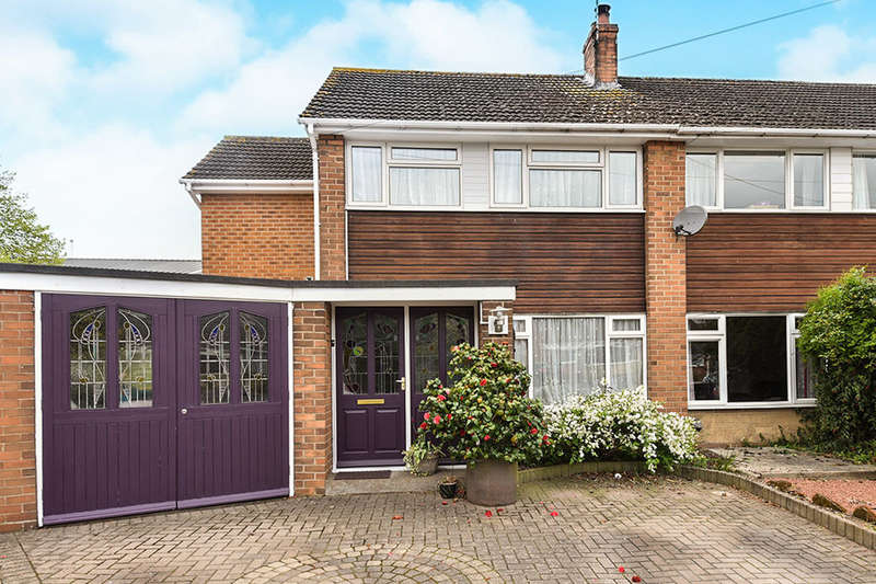 4 Bedrooms Semi Detached House for sale in Leamington Road, Branston, Burton-On-Trent, DE14