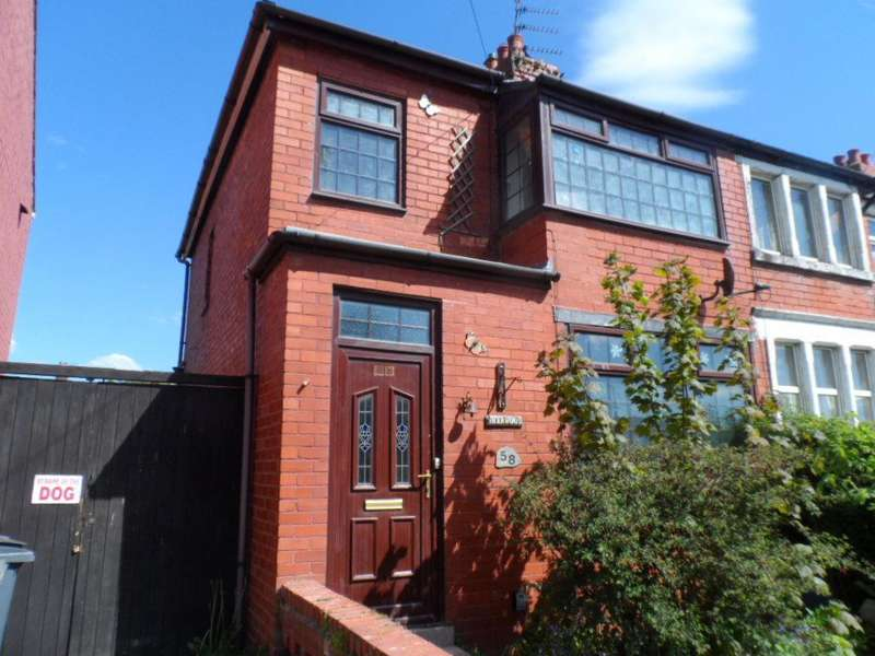 2 Bedrooms Semi Detached House for sale in Cherry Tree Road, Marton, FY4 4PF