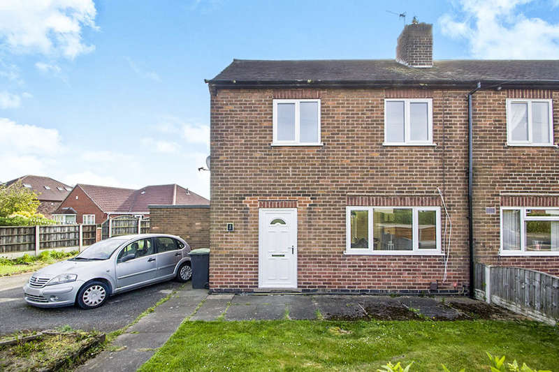 2 Bedrooms Semi Detached House for sale in The Glebe, Cossall, Nottingham, NG16
