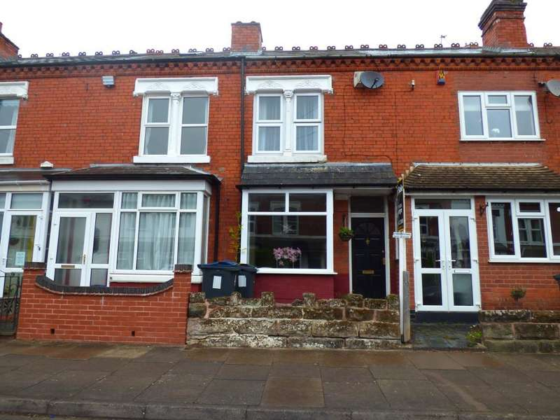2 Bedrooms Terraced House for sale in Hampton Court Road, Harborne, Birmingham, B17 9AF