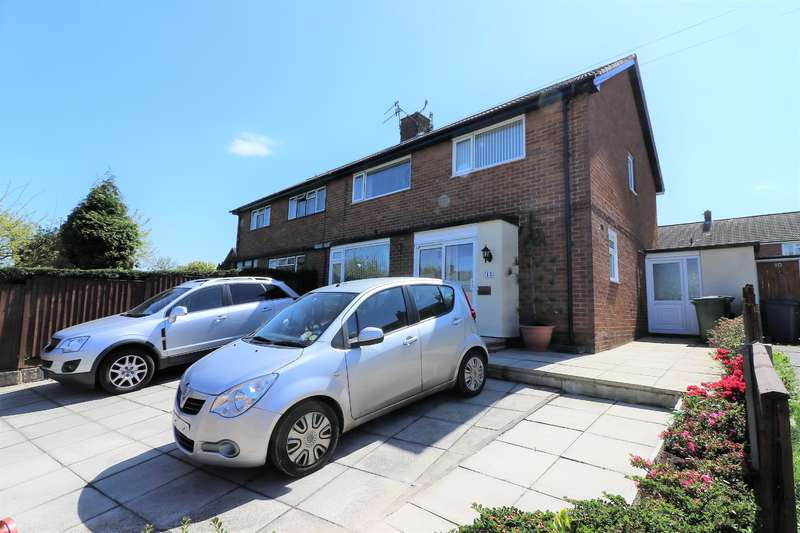 4 Bedrooms Semi Detached House for sale in Leeswood Road, Wirral, CH49 9AD