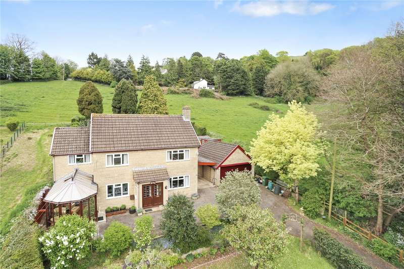 4 Bedrooms Detached House for sale in Kingscourt Lane, Rodborough, Stroud, Gloucestershire, GL5