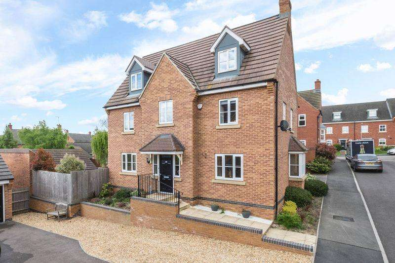 5 Bedrooms Detached House for sale in Patenall Way, Higham Ferrers