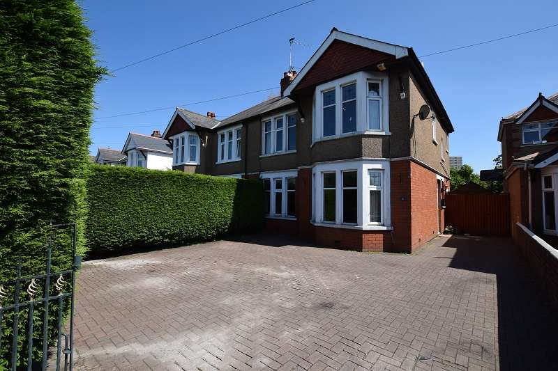 4 Bedrooms Semi Detached House for sale in Thornhill Road, Llanishen, Cardiff. CF14 6PD