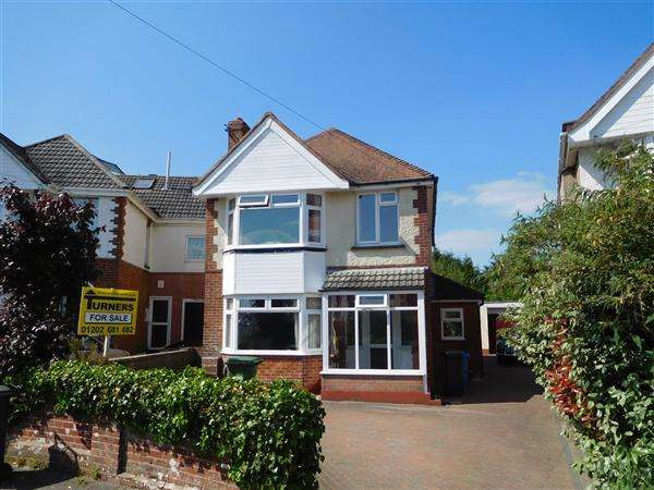 4 Bedrooms Detached House for sale in Woodlands Avenue, Poole