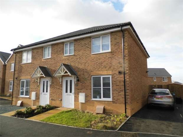 3 Bedrooms Semi Detached House for sale in Heol Tredwr, Waterton, Bridgend, Bridgend, Mid Glamorgan