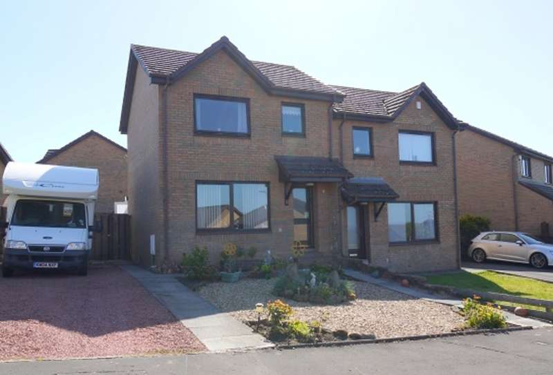 3 Bedrooms Semi Detached House for sale in Fernlea Avenue, Mauchline, KA5