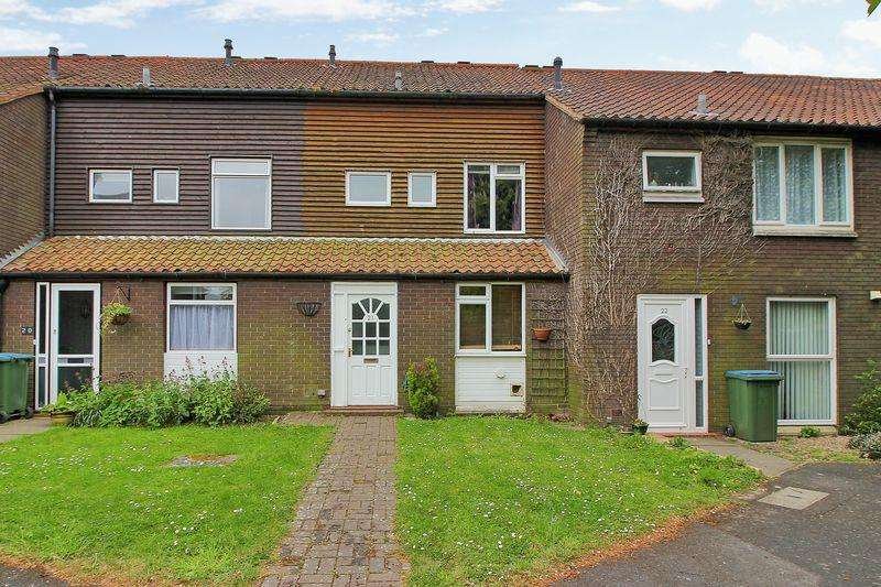 3 Bedrooms Terraced House for sale in Siskin Close, Horsham