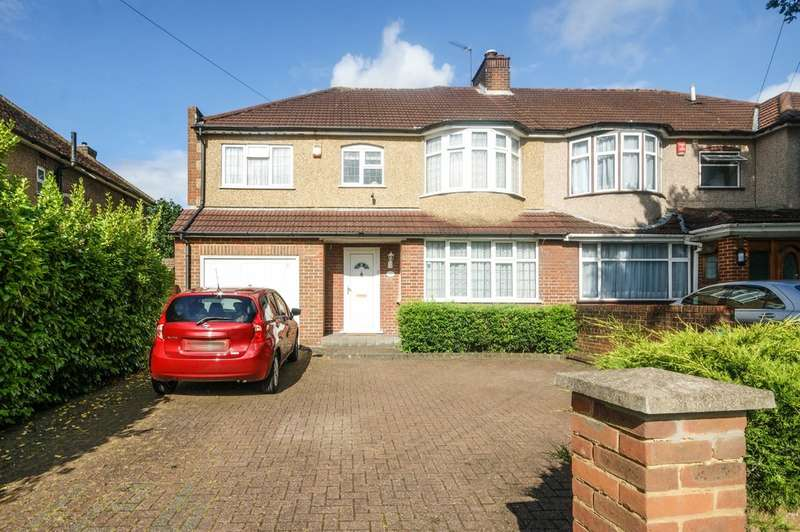 4 Bedrooms Semi Detached House for sale in Pinner Hill Road, Pinner