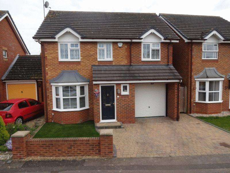 4 Bedrooms Detached House for sale in Sacombe Green, Luton