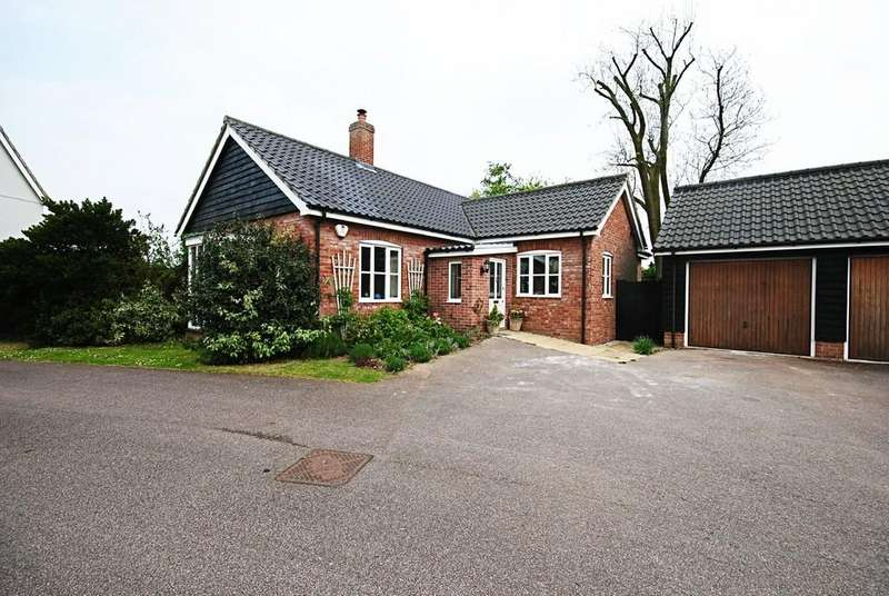 2 Bedrooms Detached Bungalow for sale in Dudleys Close, Redgrave