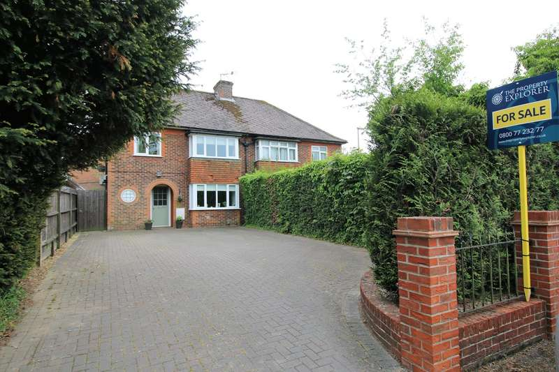 3 Bedrooms Semi Detached House for sale in Worting Road, Basingstoke, RG22