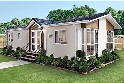 2 Bedrooms Detached Bungalow for sale in Oaklands Residential Park, Glendale Road, Okehampton, Devon