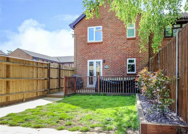 1 Bedroom End Of Terrace House for sale in Chisbury Close, Forest Park, Bracknell, Berkshire