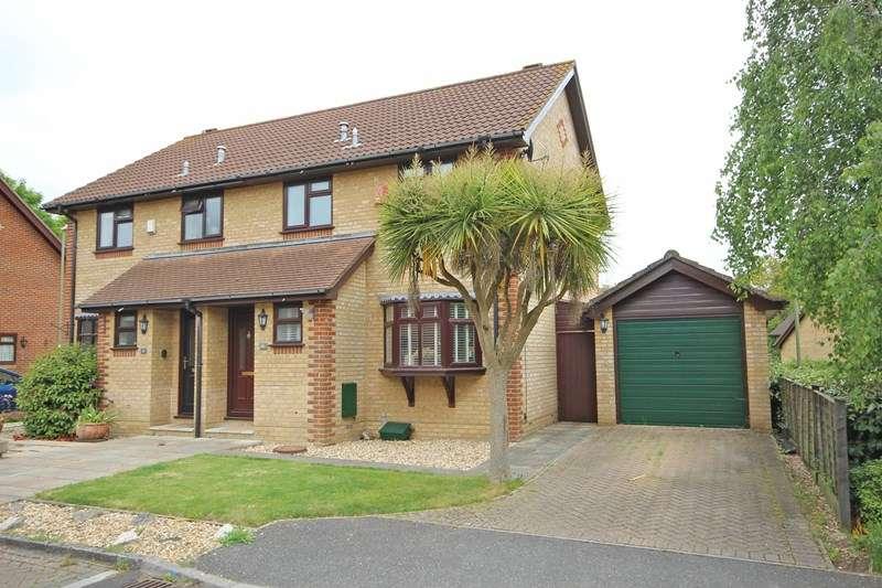 3 Bedrooms Semi Detached House for sale in Yerville Gardens, Hordle, Lymington