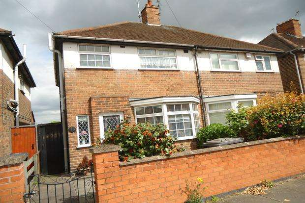 3 Bedrooms Semi Detached House for sale in Swithland Avenue, off Abbey Lane, Leicester, LE4