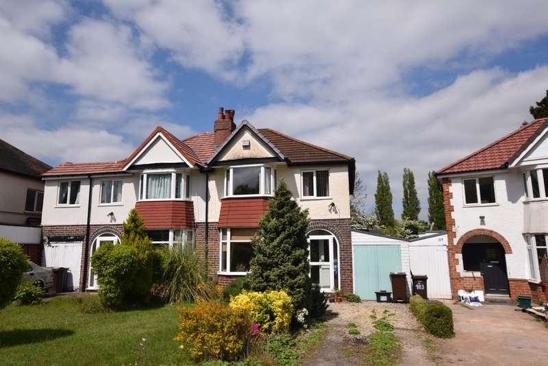 3 Bedrooms Semi Detached House for sale in Streetsbrook Road, Shirley