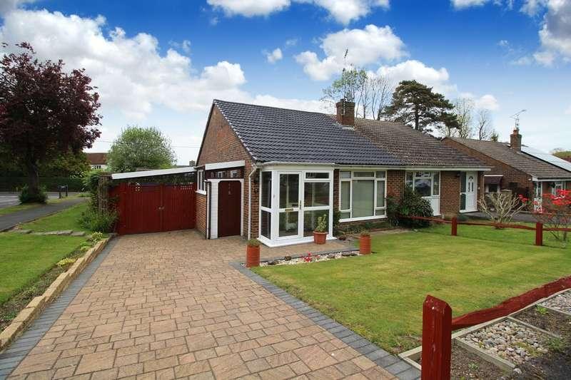 2 Bedrooms Semi Detached Bungalow for sale in Ryecroft Meadow, Mannings Heath
