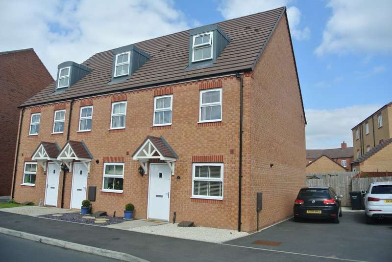 3 Bedrooms End Of Terrace House for sale in Cornflower Drive, Evesham