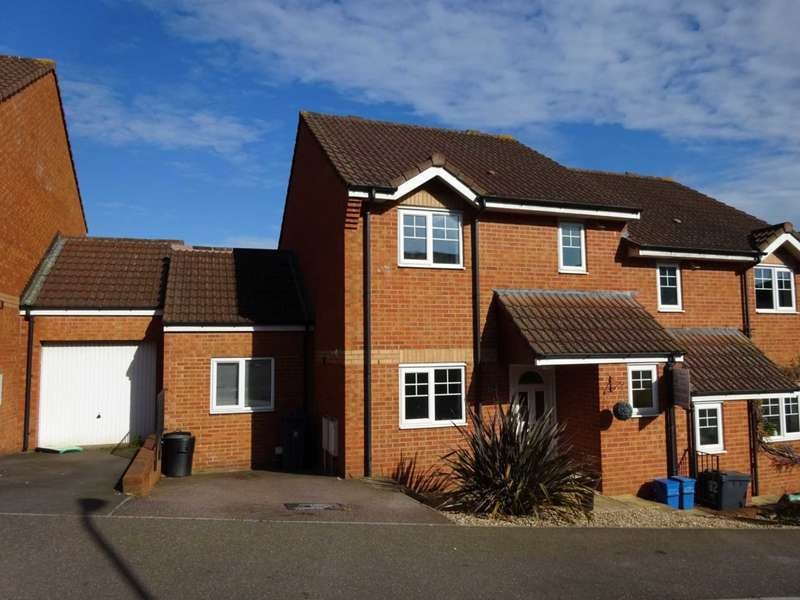 3 Bedrooms Semi Detached House for sale in Byron Way, Exmouth