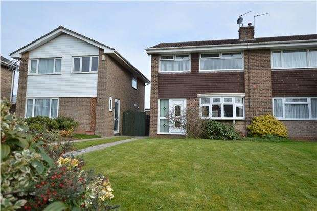 3 Bedrooms Semi Detached House for sale in Finch Road, Chipping Sodbury, BRISTOL, BS37 6JB