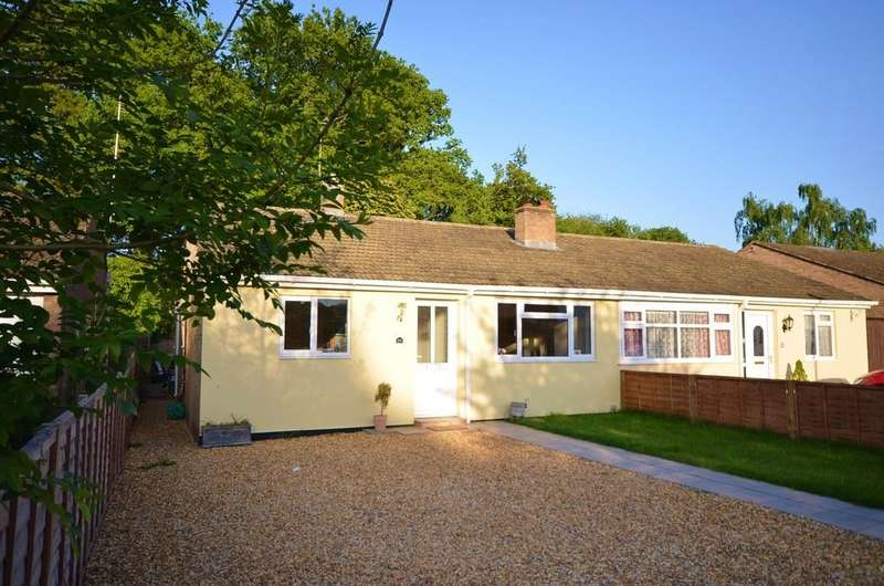 3 Bedrooms Semi Detached Bungalow for sale in Frensham Close, Yateley