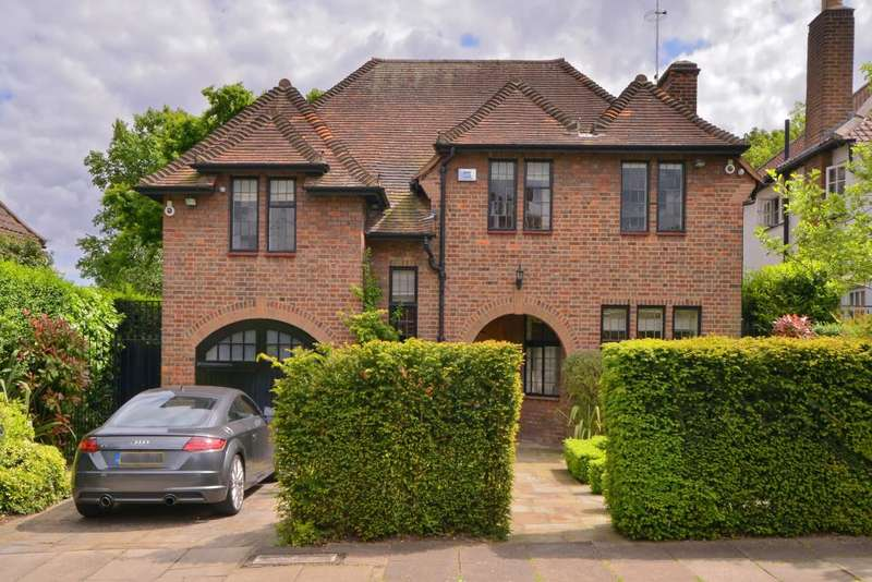 5 Bedrooms Detached House for sale in Middleway Hampstead Garden Suburb NW11