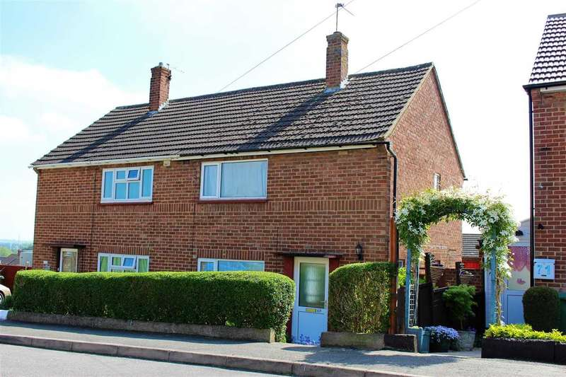 2 Bedrooms Semi Detached House for sale in Windsor Road, Wellingborough, NN8 2NB