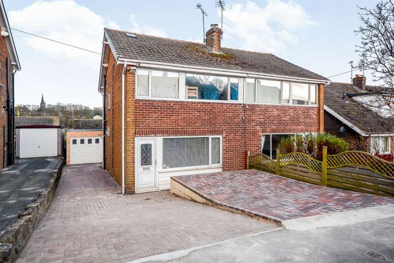 4 Bedrooms Semi Detached House for sale in Coppice Rise, Harrogate