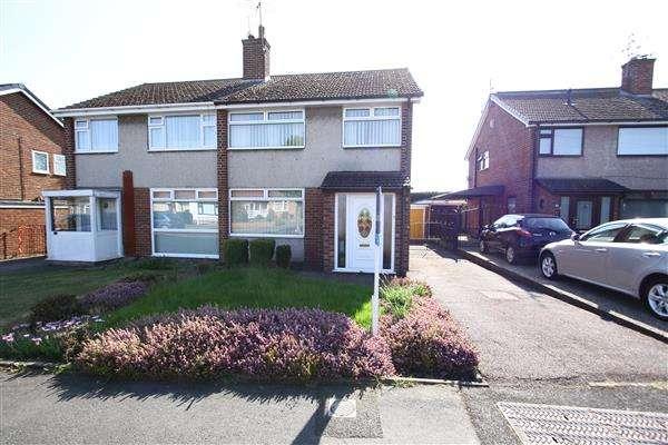 3 Bedrooms Semi Detached House for sale in Glencoe Road, Ellesmere Port