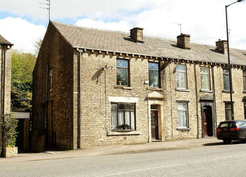 3 Bedrooms End Of Terrace House for sale in Oldham Road, Springhead, Saddleworth