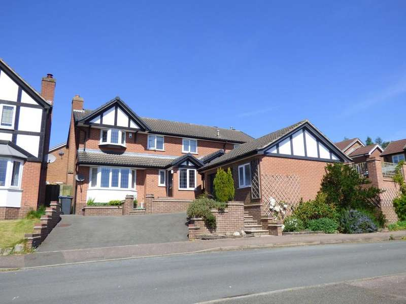 5 Bedrooms Detached House for sale in Meynell Rise, Ashbourne