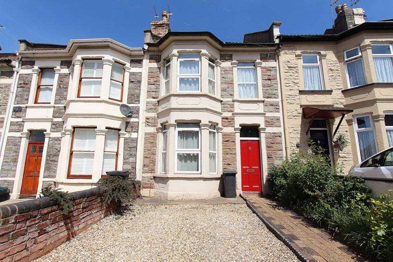 3 Bedrooms Terraced House for sale in Sandy Park Road, Brislington, Bristol