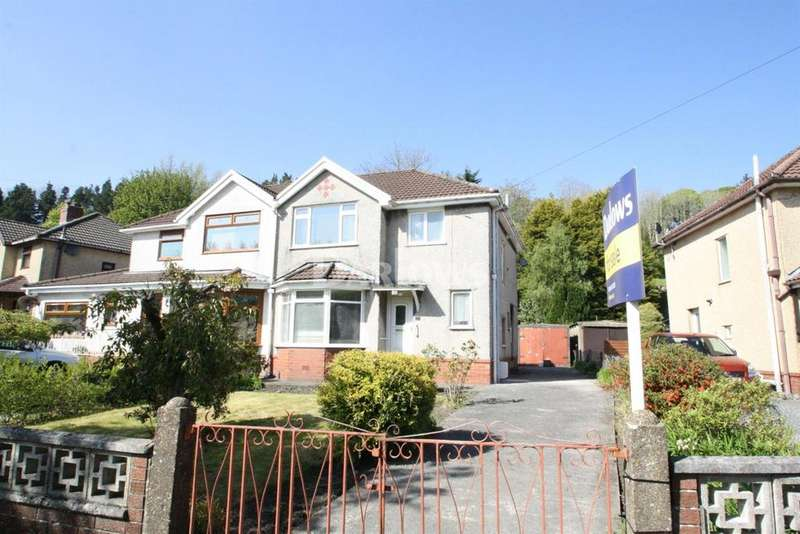 3 Bedrooms Semi Detached House for sale in Cambridge Gardens, Beaufort, Ebbw Vale, Gwent